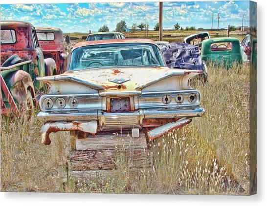 Junkyard Series 1960's Chevrolet Impala Canvas Print