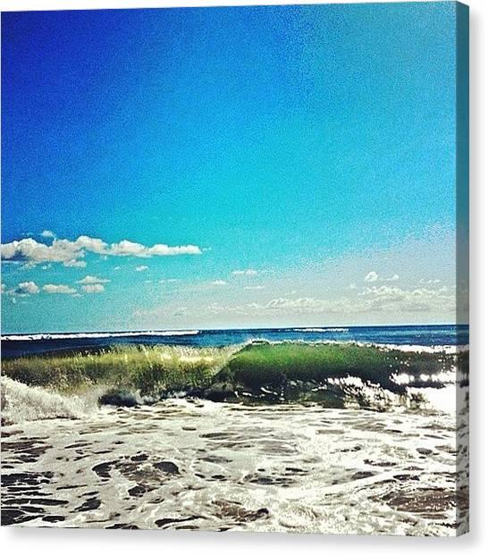 Jupiter Canvas Print - #jupiter #florida #swell #surf #beach by Eddie Vanderwerff
