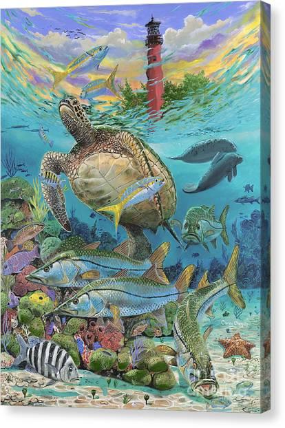 Atlantis Canvas Print - Jupiter Haven Re001 by Carey Chen