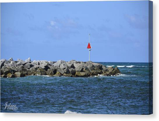Jupiter Jetty Canvas Print
