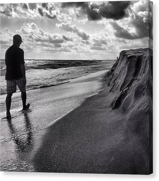 Jupiter Canvas Print - #jupiter #jupiterbeach #beach by Jeremy Ferris