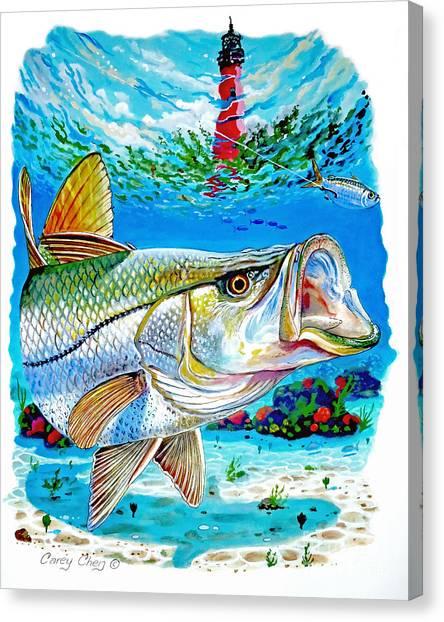 Yamaha Canvas Print - Jupiter Snook by Carey Chen