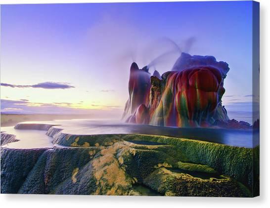 Nevada Canvas Print - Jurassic Sunrise by Andrew J. Lee
