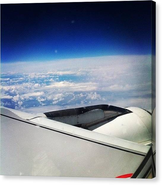 Kiwis Canvas Print - Just About To Land In Christchurch - 30 by Emily Lawley