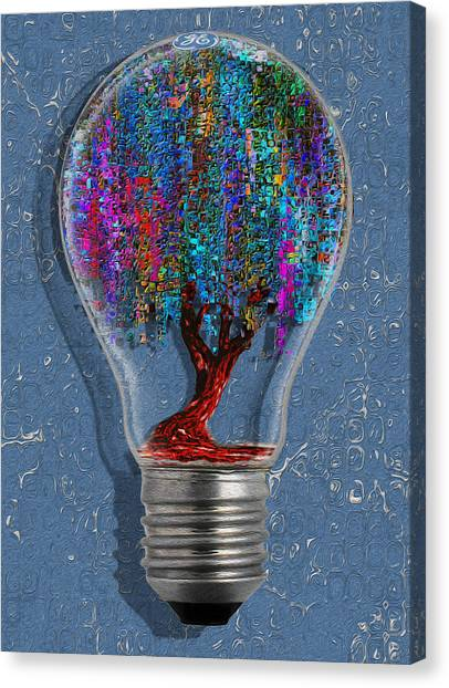 Installation Art Canvas Print - Just An Idea by Jack Zulli