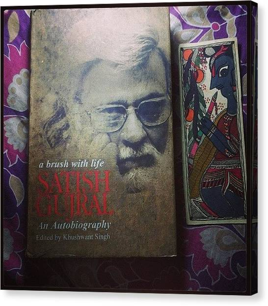 Sculptors Canvas Print - Just Finished Reading #autobiography Of by Ankit Agrawal