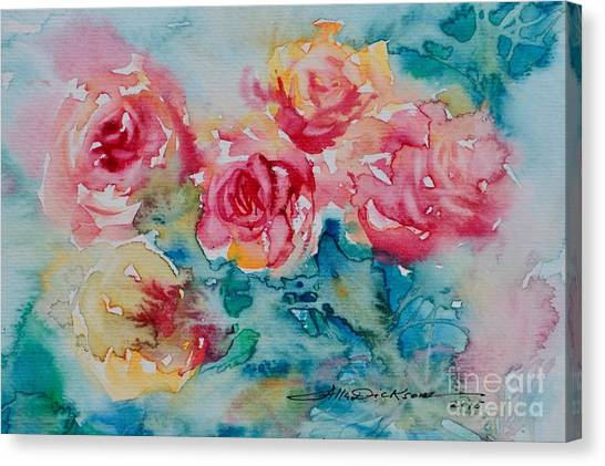 Just For You. #4 Canvas Print