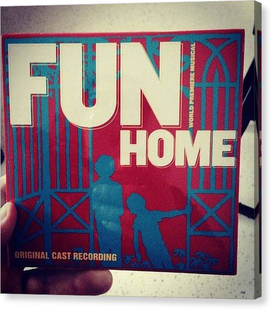 Canvas Print - Just Got This Amazing Cast Recording Of by Rosie Odonnell