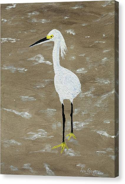 Just Keep Walking Canvas Print by Leo Gehrtz