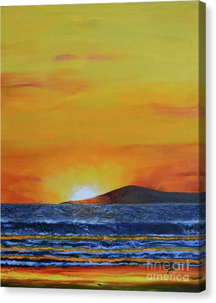 Just Left Maui Canvas Print