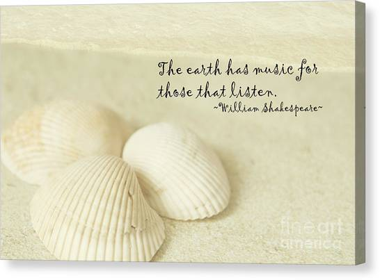Just Listen Canvas Print