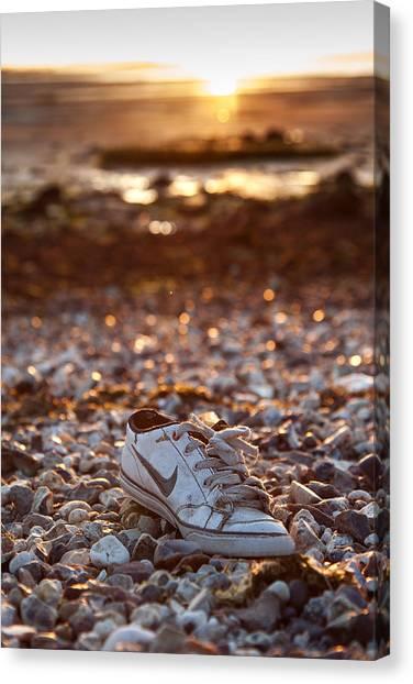 Ticks Canvas Print - Just Shoe It by Nigel Jones