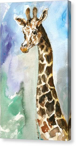 Just So Tall Canvas Print