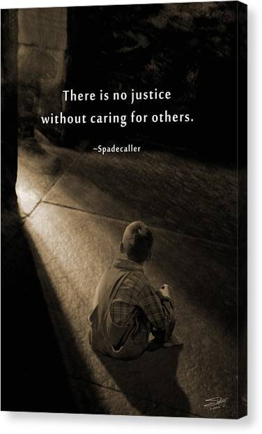 Justice For All Canvas Print
