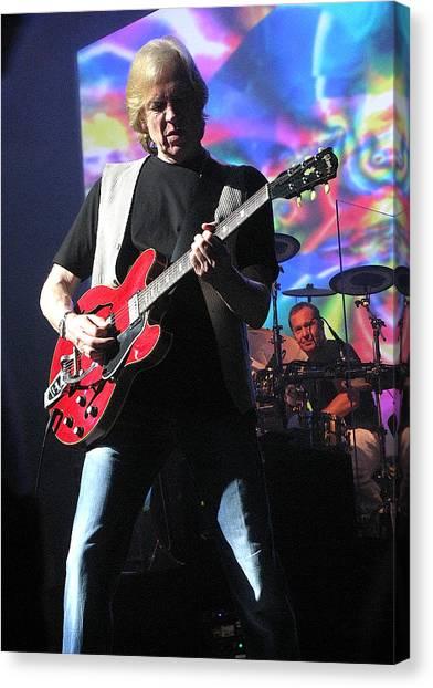 Justin Hayward Of The Moody Blues Canvas Print