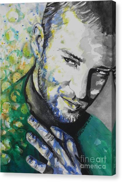 Justin Timberlake...01 Canvas Print