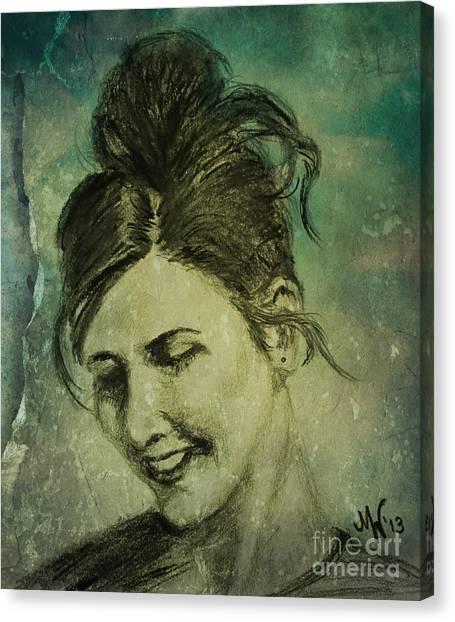 K Canvas Print