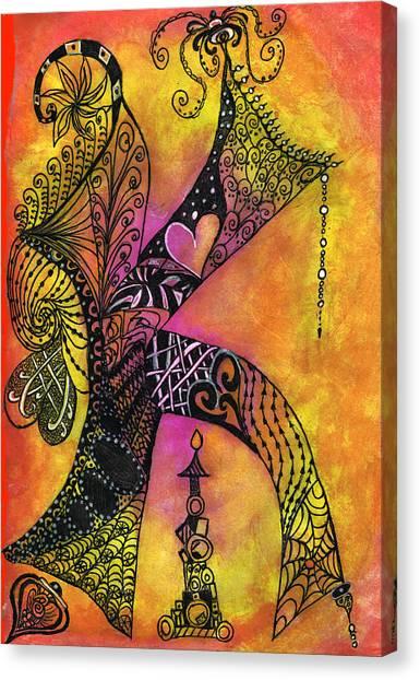 K-zen Canvas Print