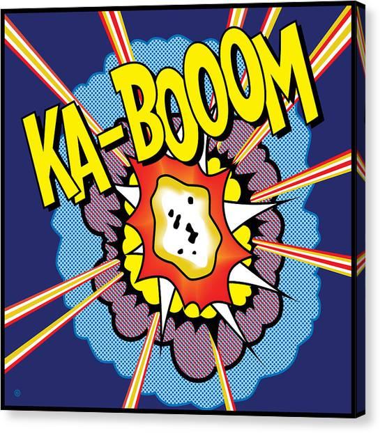 Ka-boom 2 Canvas Print