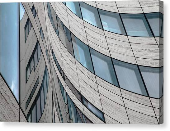 Modern Architecture Canvas Print - Ka? Windows by Gilbert Claes