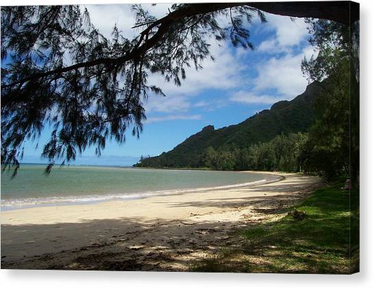 Ka'a'a'wa Beach Park Canvas Print