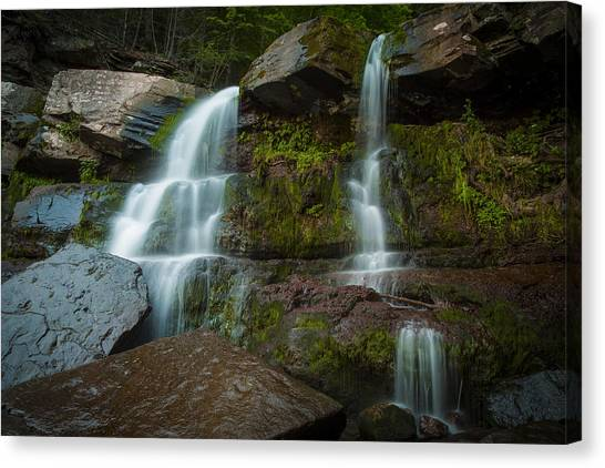 Albany Canvas Print - Kaaterskill Falls by Edgars Erglis