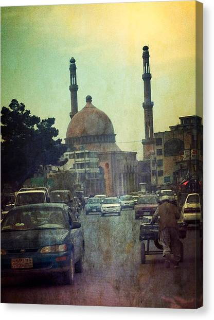 Kabul Diaries  Canvas Print by Fareeha Khawaja