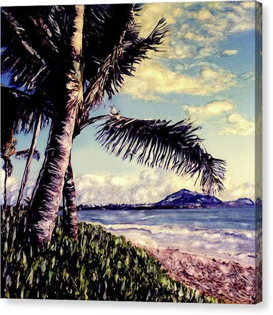 Kailua Beach 3 Canvas Print