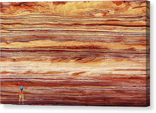 Geology Canvas Print - Kalbarri, Western Australia by Artistname