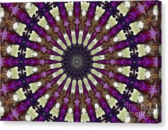 Kaleidoscope Iris Canvas Print