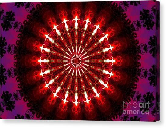 Kaleidoscope Sunset Canvas Print