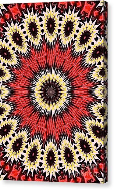 Kaleidoscope Torch Canvas Print