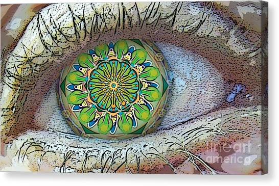 Kaleidoscopeeyeq Canvas Print