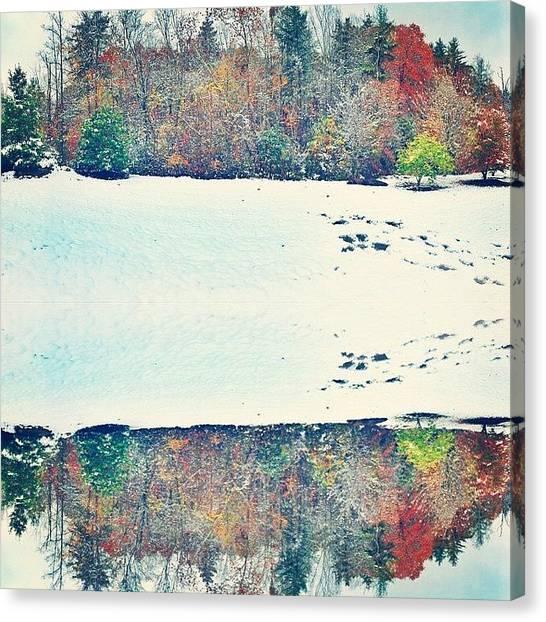 Appalachian Mountains Canvas Print - Kaleidosnow by Simon Nauert