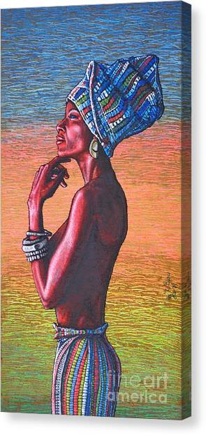 Kalimba De Luna Canvas Print