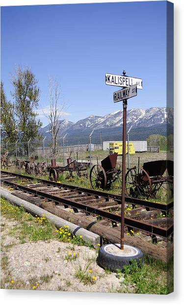 Kalispell Crossing Canvas Print