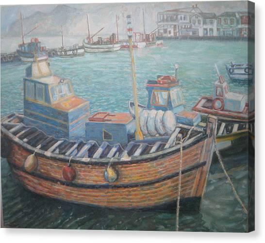 Kalk Bay Harbor Canvas Print