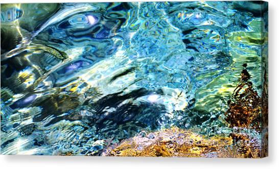 Kanaloa Abstract Canvas Print