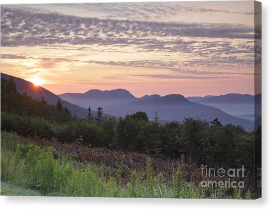 Kancamagus Highway - White Mountains New Hampshire Usa Canvas Print
