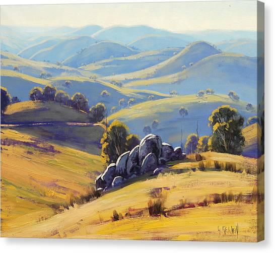 Homestead Canvas Print - Kanimbla Granite by Graham Gercken