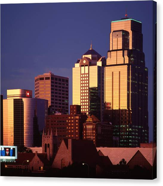 Kansas City Canvas Print