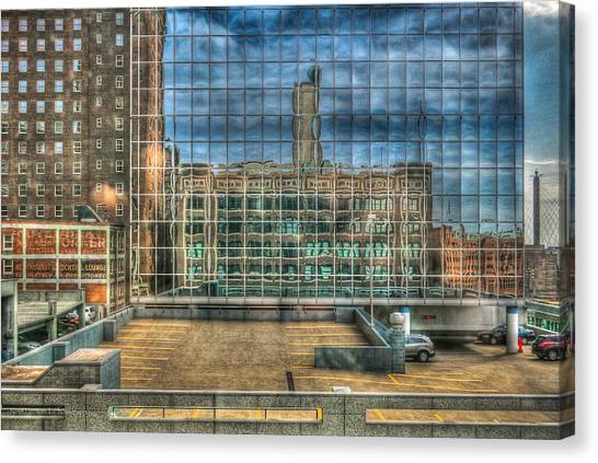 Kansas City Windows Canvas Print