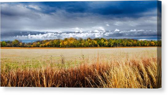 Kansas Fall Landscape Canvas Print