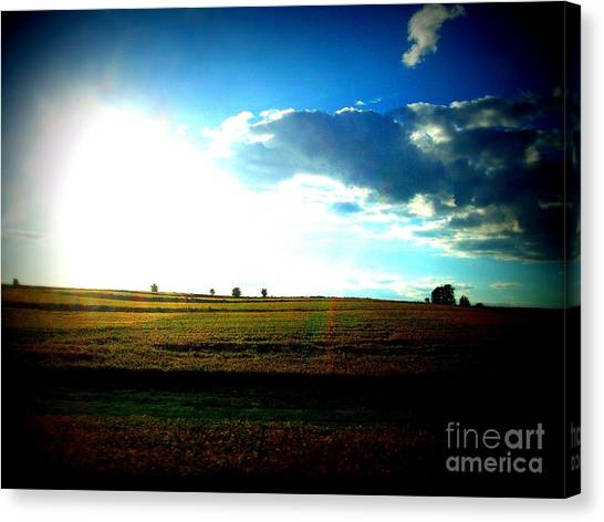 Minecraft Canvas Print - Kansas by Kayli Butler