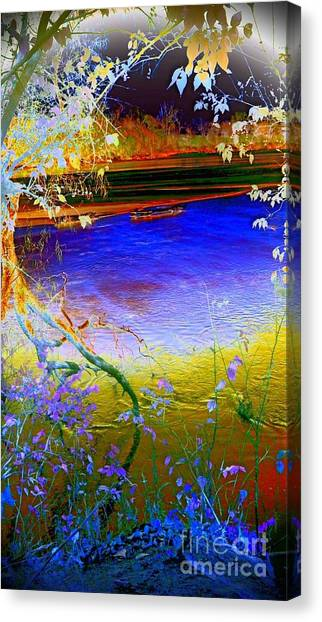 Kansas River 2 Canvas Print