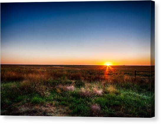 Kansas Sunrise Canvas Print