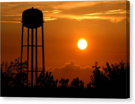 Kansas Sunset Canvas Print