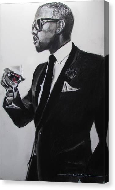 Kanye West - Maga Hat Canvas Print