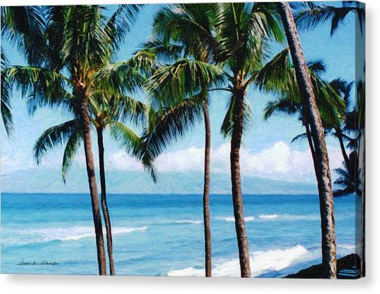 Kapalua Beach Canvas Print