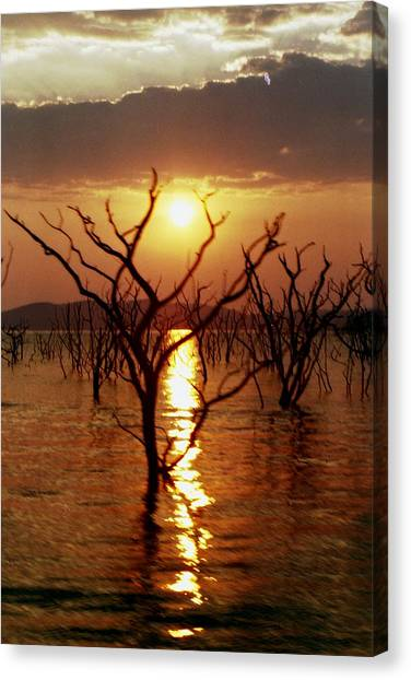 Kariba Sunset Canvas Print